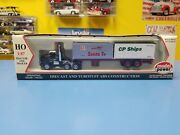 Model Power Santa Fe/ Cp Ships Tractor And Trailer New