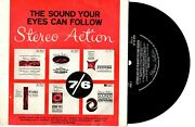 Various - Stereo Action Demo - 5-track Promo 7 45 Vinyl Record Pic Slv