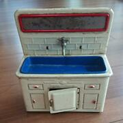 Tin Made Girls Toy Play House Sink Made In Japan Vintage Retro Free Shipping