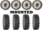 Kit 4 System 3 Xm310r Tires 35x9-20 On System 3 St-3 Bronze Wheels Can
