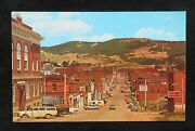 1960s Business Section Budwweiser Beer Old Cars Signs Stores Cripple Creek Co Pc