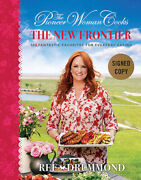 Autographed/signed The Pioneer Woman Cooks The New Frontier Hc - Brand New