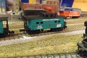 Penn Central Pc 19064 N-scale Custom Painted Caboose