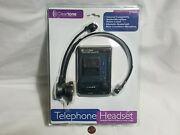 New W/ Box Wear Cleartone Telephone Headset Model Ct-850 Hands-free Adapter
