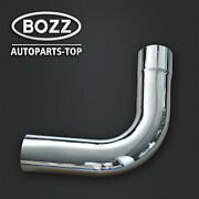 5 Id/od Chrome 90 Degree Exhaust Elbow - 19.5 Arms