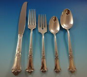 Stately By State House Sterling Silver Flatware Set For 8 Service 40 Pieces