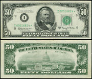 Fr. 2113 I 50 1963-a Federal Reserve Note Minneapolis I00016814 Xf Star 1st