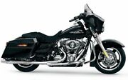 Chrome Thunderheader 2 Into 1 Exhaust Pipe Long 1985-2006 Harley Touring Bagger