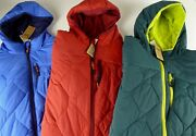 Duluth Trading Co Agiloft Quilted Lightweight Hooded Stretch Jacket Nwt 149-159