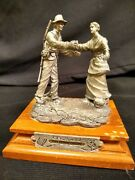 The Homecoming By Francis J Barnum Chilmark/pewter Sculpture