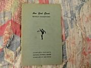 1939 New York Giants Media Guide Yearbook Program 1938 Nfl Champions Press Book