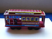 San Francisco Vintage Street Car With Push Friction Motor And Bell