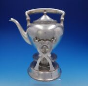 Lebkuecher And Co Sterling Silver Kettle On Stand Arts And Crafts 2690 3791