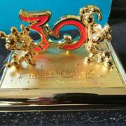 Tokyo Disneyland 30th Anniversary Card Case Novelty With Box From Japan F/s