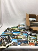 Huge Collectors Antique Vintage Lot Of Historic Post Cards Most New Some Wrote