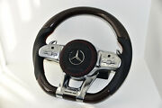 Mercedes Sports Steering Wheel Carbon Red Pearl Edition G63 S63 C63 Cls53 A35