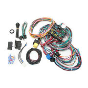 Universal - 12 Circuit Wiring Harness Kit Gm Color Coded And Marked