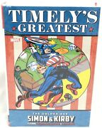 Timely's Greatest Golden Age Simon And Kirby Omnibus Marvel Comics Hc Sealed 150