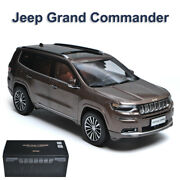 Jeep Grand Commander 118 Scale Diecast Model Car Metal + Abs +rubber