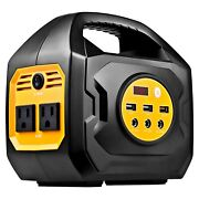 S200 Portable Power Station For Camping And Emergency Uses Solar/car/wall