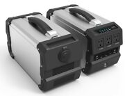 444wh Portable Power Station With 400w Ac Output For Emergency Power Supply