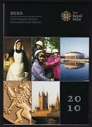 2010 Uk Brilliant Uncirculated Coin Collection 12 Coin Set