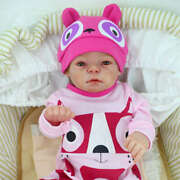 Reborn Baby Doll Full Body Vinyl Dolls 20 Toy Gift Toddler Super Real Silicone