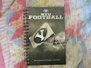 2010 Byu Football Media Guide Yearbook Press Book Program Magazine Brigham Young