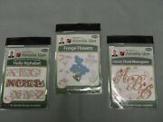John Deer's   Embroidery Designs Adorable Ideas Lot Of 3 Cds, New In Package