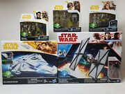 Lot Of Star Wars Force Link 2.0 Figures Millennium Falcon Sealed New In Box