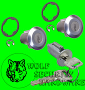 Ford F Series In Dash Ignition And Door Lock Key Cylinder Tumbler Set 2 Keys