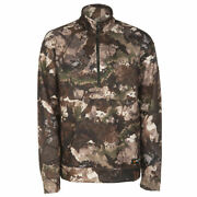 Guide Series Menand039s L Large Pursuit Quarter-zip Pullover Hunting Jacket Veil Camo