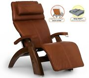 Human Touch Pc-420 Perfect Chair Recliner + Premium Leather Back Cover + Blanket