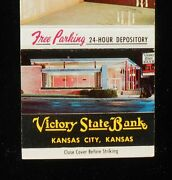1950s Victory State Bank 19th And Central Ave Color Photo Kansas City Ks Wyandotte