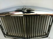 Bentley Mulsanne S Chrome Panel Grill Complete Wing And Moulding Ub84433u