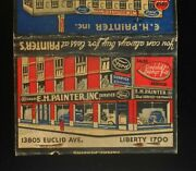 1930s Nice E. H. Painter Gulf Gas Ford Lincoln Cars East Cleveland Oh Cuyahoga