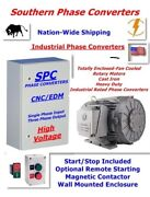 30 Hp Cnc Rotary Phase Converter-for Metal And Woodworking Equipment--tefc Motor