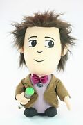Doctor Who 11th Doctor 15 Plush Talking Toy Matt Smith Sonic Screwdriver Dr New
