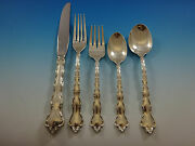 Tara By Reed And Barton Sterling Silver Flatware Service For 8 Set 40 Pieces