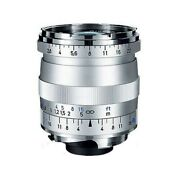 New Carl Zeiss Biogon T 21mm F2.8 Zm Wide Angle Lens Silver Leica Mp M10 M9 M8