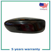 Left Driver Side Mirror Cap Cover For 2013-2017 Nissan Altima Sedan Smooth Black