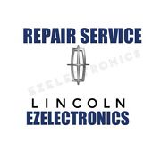 Instrument Cluster Repair Service For 1993 To 2004 Lincoln Town Car