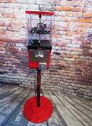 Indian Motorcycle Vintage Coin Op Gumball Machine Mandm Dispenser Holiday Gift