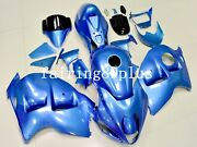 Solid Blue Abs Injection Fairing Kit Fit For Hayabusa 1997-2007 Gsxr1300 Gen 1