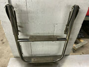 Marine Stainless Steel 2 Step Fixed Boat Boarding Ladder