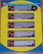 Athearn 93038 Bethgon Coalporter With Load 5-pack Bnsf 5