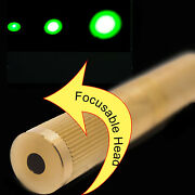 Focusable 532nm 30mw Green Laser Module/adjustable Beam Size/green Laser Diode