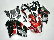 Metallic Red Black Abs Injection Fairing Kit Fit For Busa Gen1 1997-07 Gsxr1300