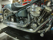 Big Dog Motorcycles Mean Mothers Ii Complete Exhaust System 300 Tire Rigid