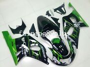 Green Black Corona Abs Injection Fairing Kit Fit For 01-03 Gsxr600 00-03 Gsxr750